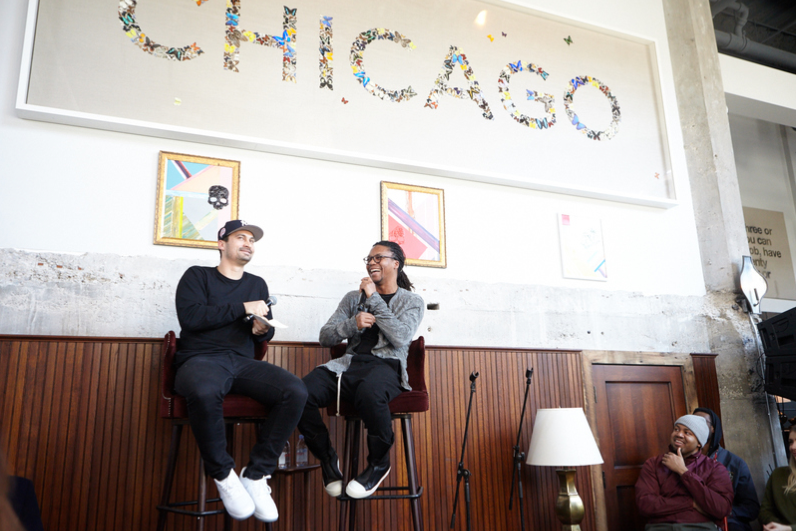 Wasalu Jaco (Lupe Fiasco) Spoke At Soho House Chicago And ...